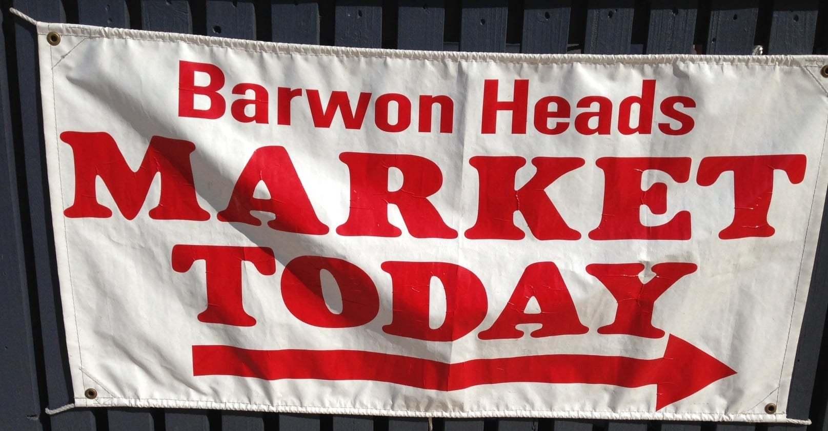 Barwon Heads market.