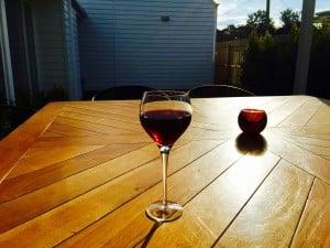 Sun, good wine, serenity