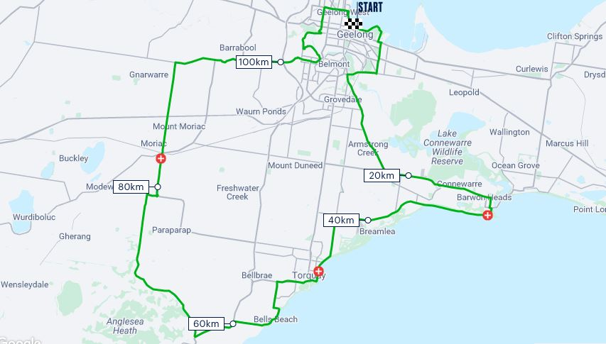 Cadel Evans Great Ocean Road Race accommodation