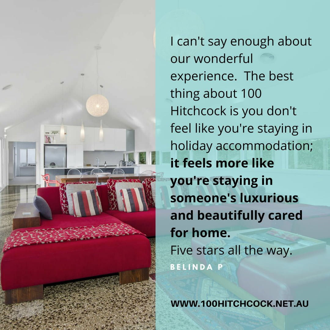 best accommodation in Barwon Heads 5 stars review
