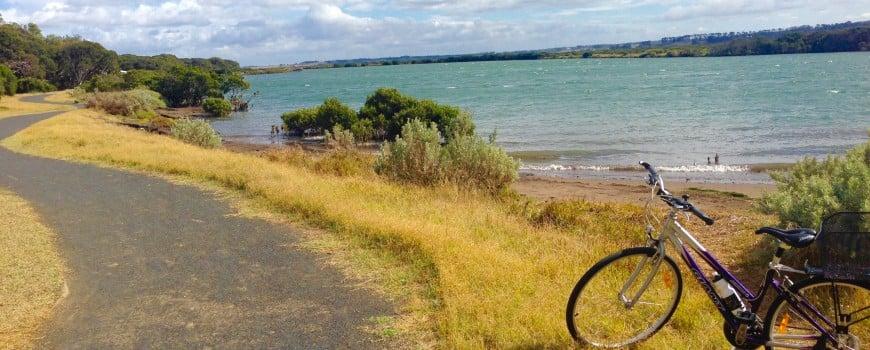 flat bike path